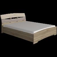 Кровать Марго - венге магия/дуб молочный