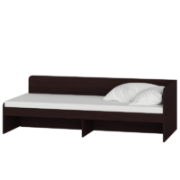 Кровать Соната 800 без ящиков - венге магия/белый