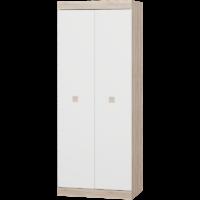 Шкаф 800 Соната - дуб сонома/белый