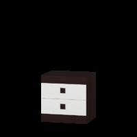 Тумба прикроватная Соната - дуб сонома/белый
